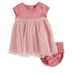 Tea Collection Doki Doki Tulle Dress & Bloomer Set